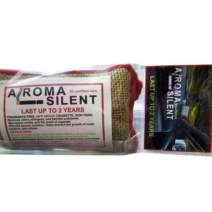 تصویر بوگیر سیگار و تصفیه کننده هوای خودرو مدل AROMA SILENT
