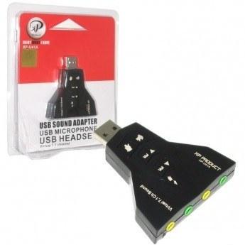 تصویر کارت صدای ۷٫۱ کاناله USB اکسترنال ۲۶۱H
