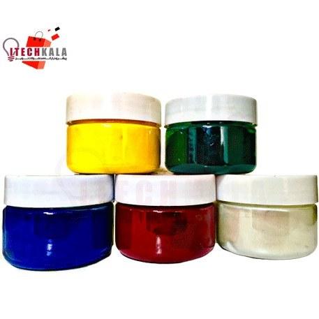 تصویر رنگ پودری معمولی مخصوص رزین اپوکسی 25 گرمی