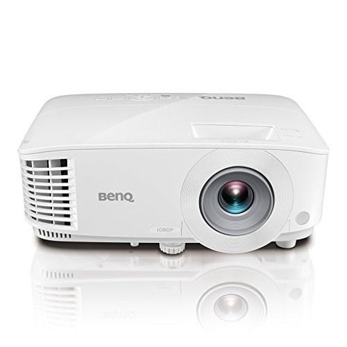 تصویر پروژکتور تجاری BenQ MH733 1080P | 4000 لومن برای چراغهای لذت بردن | 16،000: 1 نسبت کنتراست برای تصویر واضح | سنگ کلید برای راه اندازی انعطاف پذیر