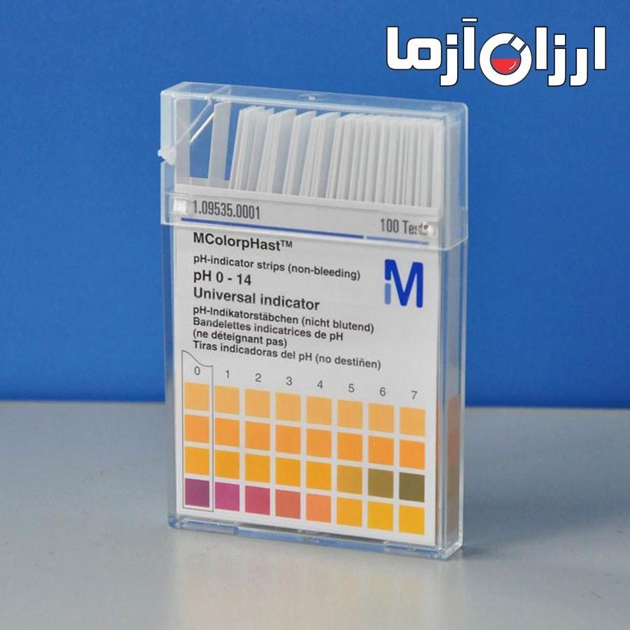 کاغذ(۱۴-۰)pH-مرک آلمان |