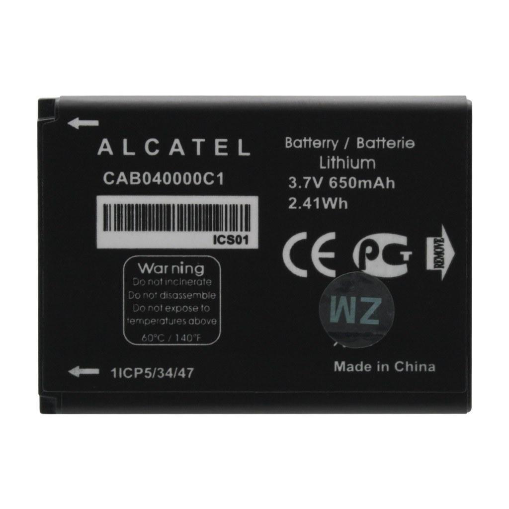 main images باتری آلکاتل CAB040000C1 ظرفیت 650 میلی آمپر ساعت Alcatel CAB040000C1 650mAh Battery