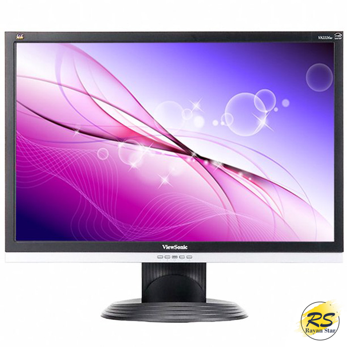 """تصویر مانیتور 22 اینچ ویوسونیک مدل ViewSonic VA2226w ViewSonic VA2226w 22"""" Widescreen LCD Monitor"""