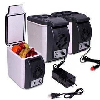 تصویر یخچال و گرم کن دو کاره فندکی خودرو Refrigerator and dual car lighter