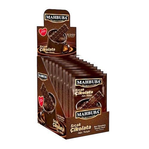 تصویر شکلات داغ محبوبا 12 عددی Mahboba Hot chocolate 12 pieces