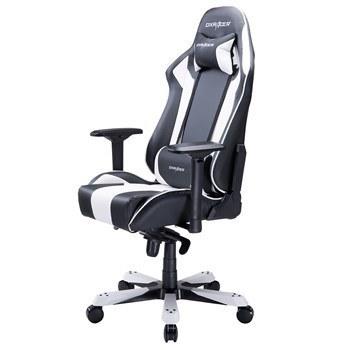 تصویر صندلی گیمینگ دی ایکس ریسر سری کینگ مدل OH/KS06/NW چرمی Dxracer King Series OH/KS06/NW Gaming Chair