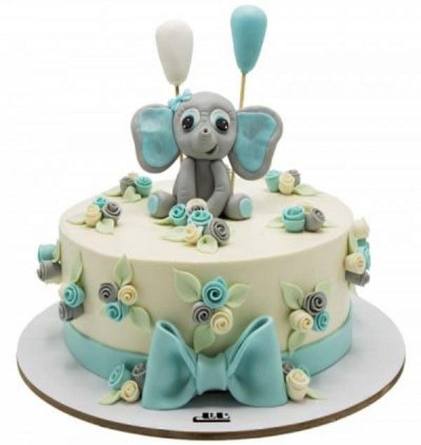کیک تولد پسرانه فیل 5 |