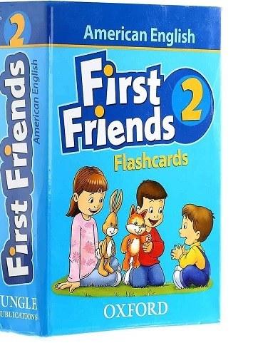 main images فلش کارت آموزشی کودکان و خردسالان |Flash Cards American First Friends 2