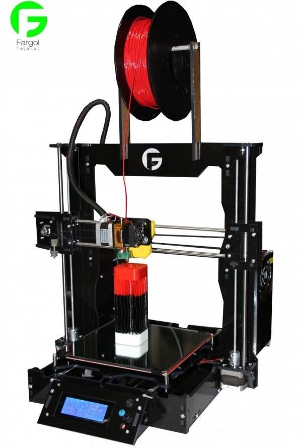 تصویر پرینتر سه بعدی Prusa i3 ورژن B