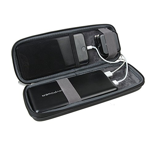 main images سخت افزار EVA Travel Case برای RAVPower 26800mAh باتری خارجی باتری Power Bank توسط Hermitshell Hermitshell Hard EVA Travel Case Fits RAVPower 26800mAh / 32000mAh / 20000mAh External Battery Pack Power Bank