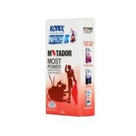 تصویر کاندوم خاردار تاخیری کدکس مدل Matador ا Kodex Matador Condoms Kodex Matador Condoms