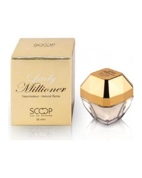 عطر جیبی زنانه اسکوپ مدل Lady Millioner حجم 30 میلی لیتر