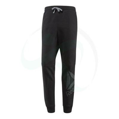 شلوار مردانه ریبوک ورکت Reebok Workout Ready Big Logo Cotton Pant Black B49898