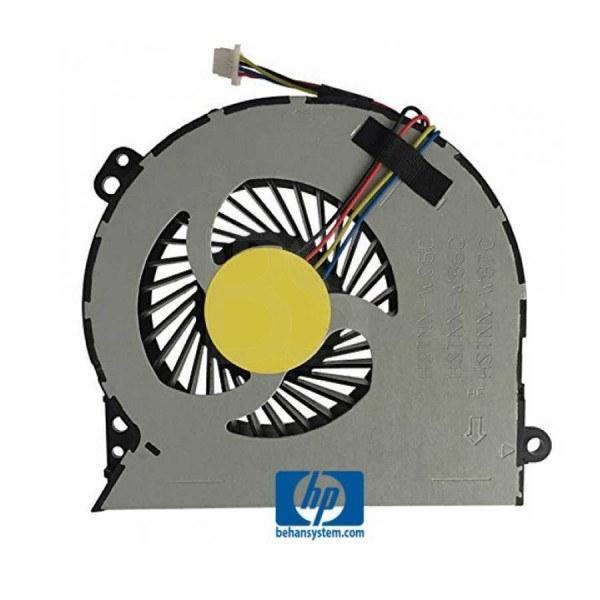 تصویر فن پردازنده لپ تاپ HP مدل Probook 4540S ا چهار سیم - DC5V چهار سیم - DC5V