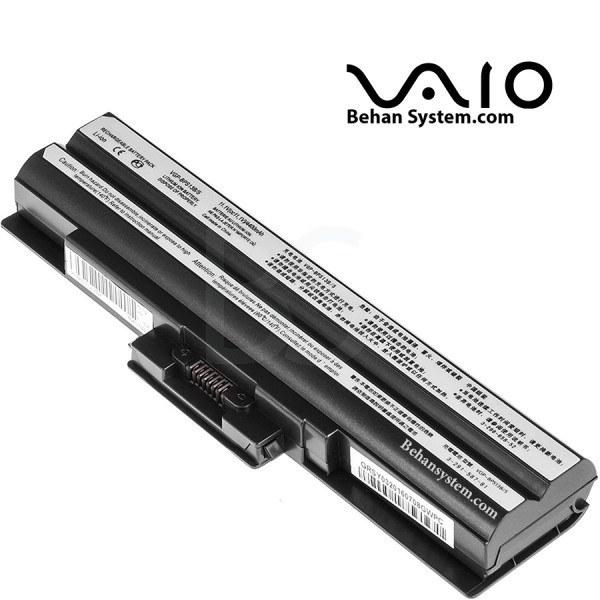 تصویر باتری لپ تاپ سونی مدل VGN-FW (برند M&M دارای سلول سامسونگ ساخت کره)