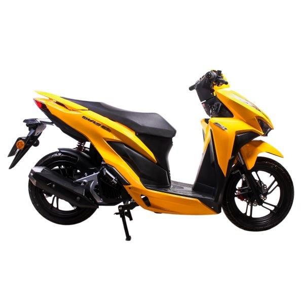 تصویر موتورسیکلت دینو طرح کلیک 150 سی سی