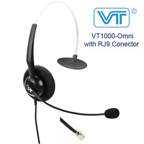 هدست تک گوش ویپ  مدل VT1000-Omni با اتصال RJ9
