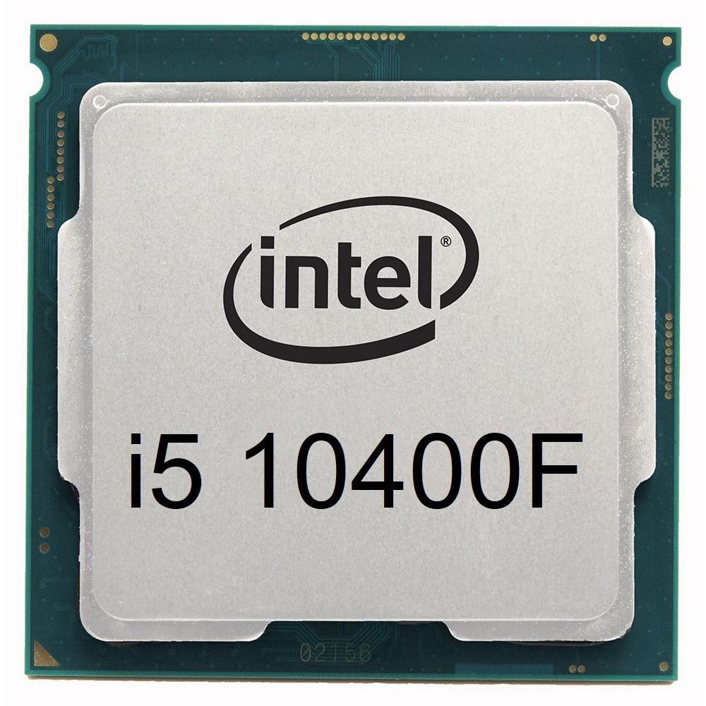 تصویر پردازنده بدون باکس اینتل Core i5 10400F Comet Lake ا Intel Core i5-10400F Comet lake 10th Gen LGA 1200 Tray Processor Intel Core i5-10400F Comet lake 10th Gen LGA 1200 Tray Processor