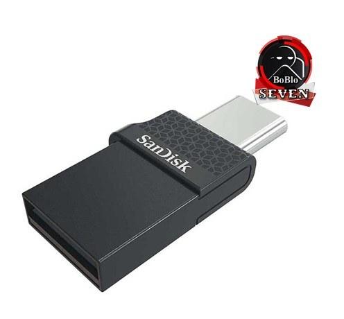 تصویر فلش ۱۲۸ گیگ سن دیسک SanDisk Dual Drive Type-C