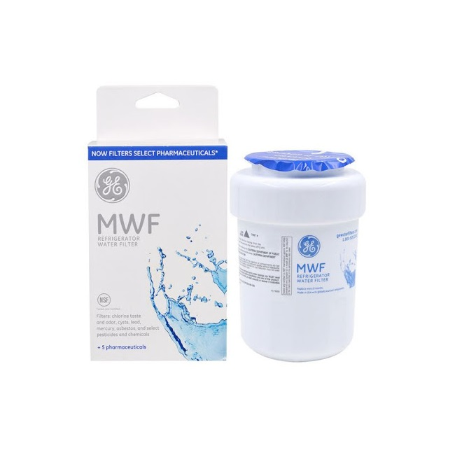 تصویر فیلتر ساید جنرال الکتریک MWF اورجینال ا General Electric MWF Refrigerator Water Filter General Electric MWF Refrigerator Water Filter