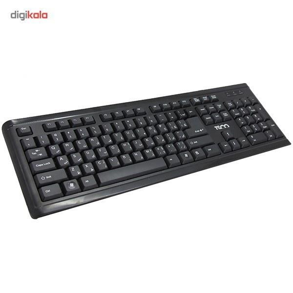 img کیبورد و ماوس تسکو مدل TKM 8050 TSCO TKM 8050 Keyboard and Mouse