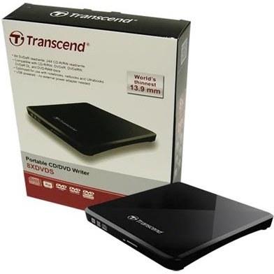 image درايو DVD اکسترنال ترنسند مدل TS8XDVDS Transcend TS8XDVDS External DVD Drive