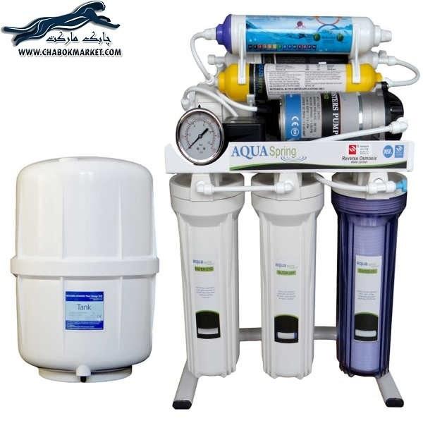 تصویر تصفیه آب خانگی آکوآاسپرینگ مدل RO-S151