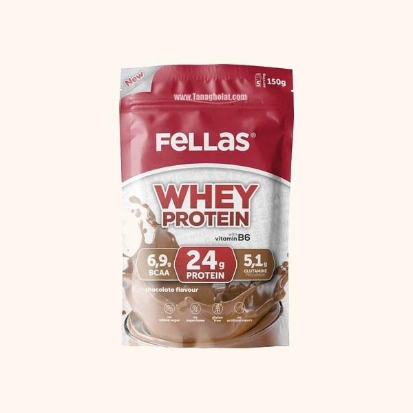 پودر پروتئین مکمل ورزشی فلاس با طعم شکلات بدون گلوتن  