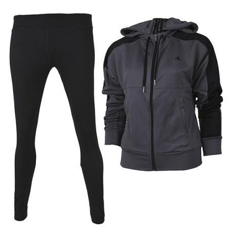 ست گرمکن و شلوار زنانه آدیداس اسپرتینیس کاستیومس Adidas Sportinis kostiumas Tight Hoody Suit AB4928