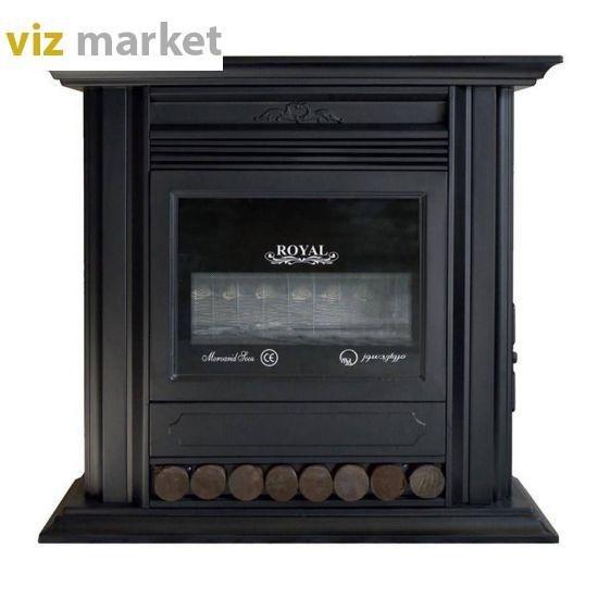 تصویر بخاری گازی مروارید سوز مدل رویال 28000 Morvaridsooz Fireplace Gas Heater Royal 28000