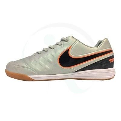 کفش فوتسال نایک تمپو طوسی Nike Tiempo