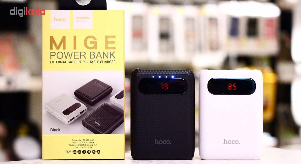 تصویر شارژر همراه هوکو مدل B20 ظرفیت 10000 میلی آمپر ساعت Hoco B20 10000mAh Power Bank