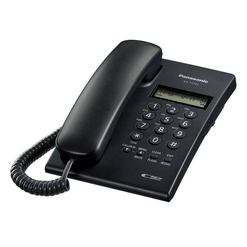 تصویر تلفن با سیم پاناسونیک مدل KX-TT7703X