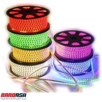 تصویر ریسه نواری فاین الکتریک چندرنگ FEC-5050-60LED RGB