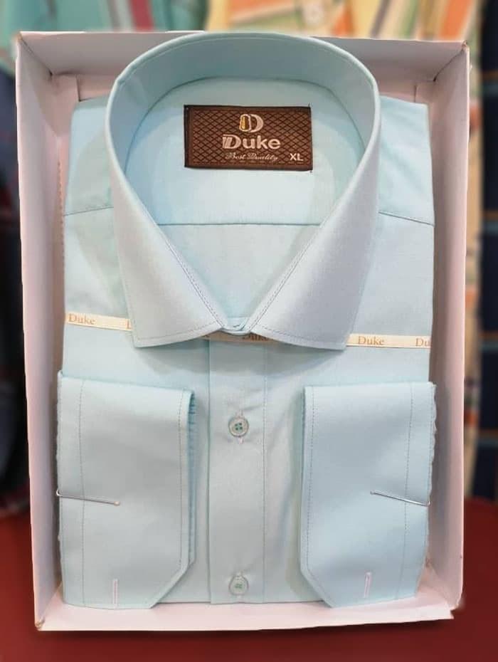 تصویر پیراهن مردانه جعبه ای دوک مدل 224 L
