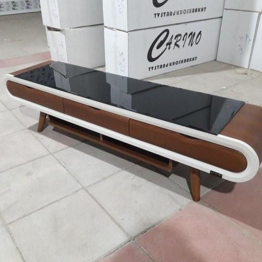 میز LED, تلوزیون و LCD(مدل 1070) MDF وکیوم شده |