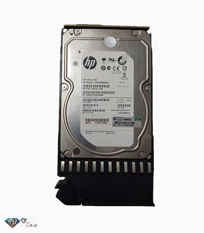 تصویر هارد سرور اچ پی با پارت نامبر ۰۰۴-۷۱۹۷۷۰ HP 4TB 6G LFF 7.2K