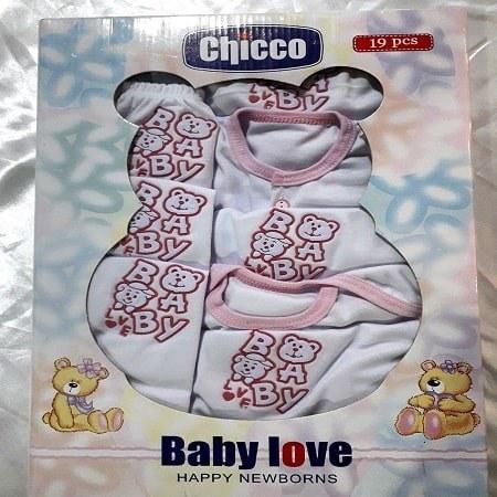 لباس نوزادی ۱۹ تیکه چیکو