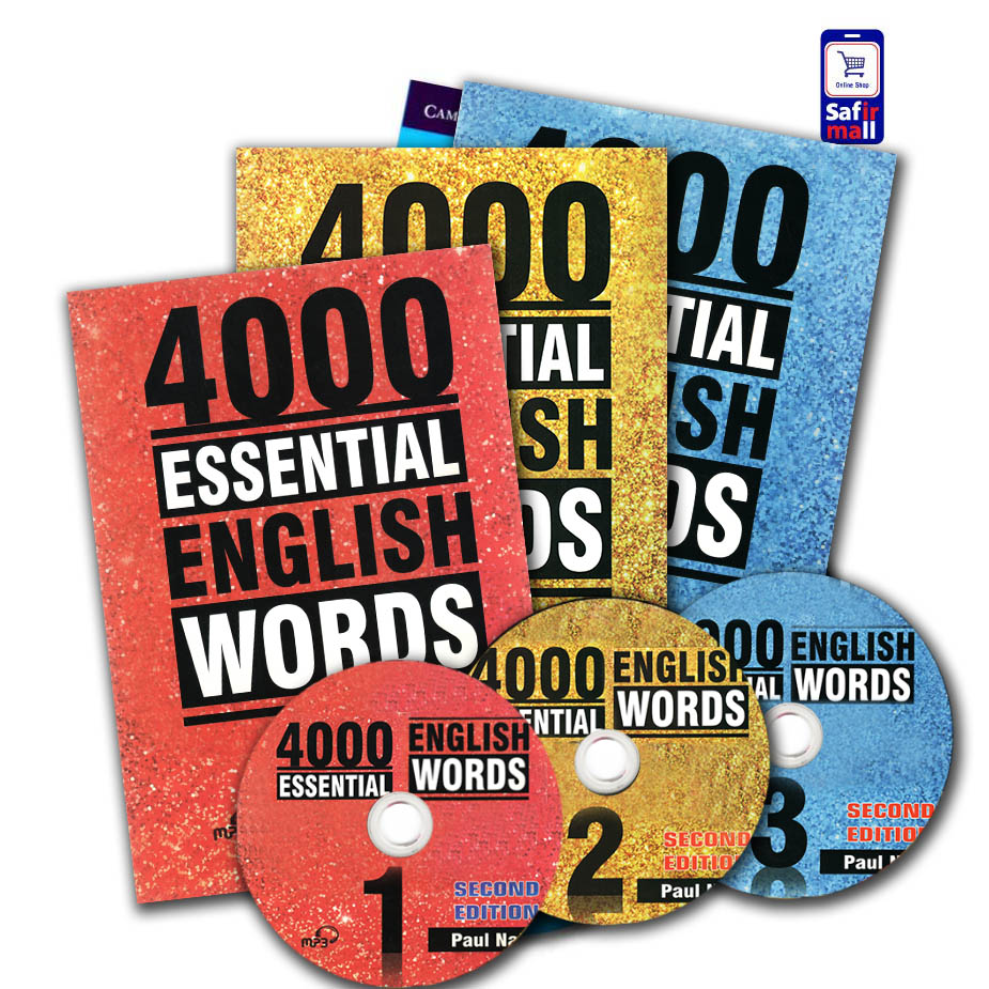 تصویر مجموعه کتابهای 4000Essential English words