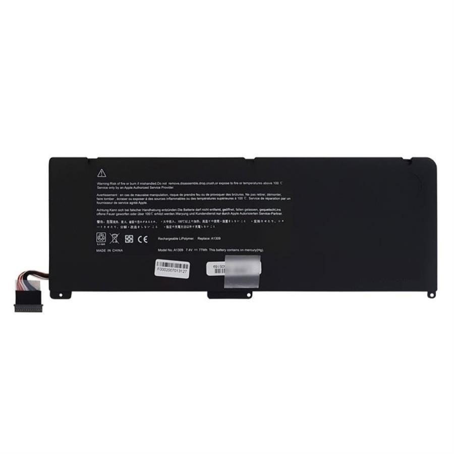 تصویر باتری لپ تاپ اپل مدل A1297 مناسب برای لپ تاپ اپل A1297 Pro A1309 2009 MACBOOK PRO 17 INCH