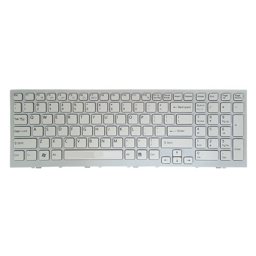main images Keyboard Laptop Sony VPC-EE کیبورد لپ تاپ سونی مدل VPC-EE سفید-با فریم