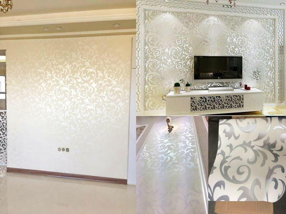 کاغذدیواری آینه ای