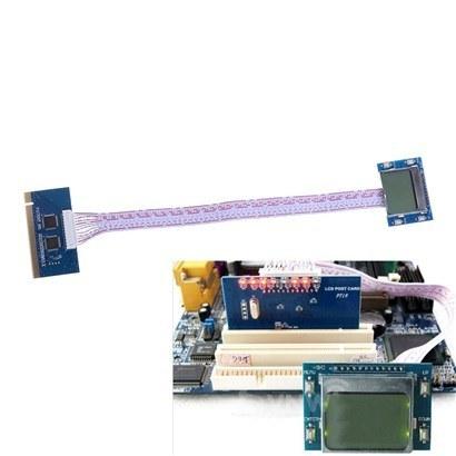تستر مادربورد به همراه  ال سی دی  PCI Tester LCD PT19