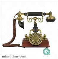 تصویر تلفن رومیزی کلاسیک برند والتر WALTHER | کد 1894