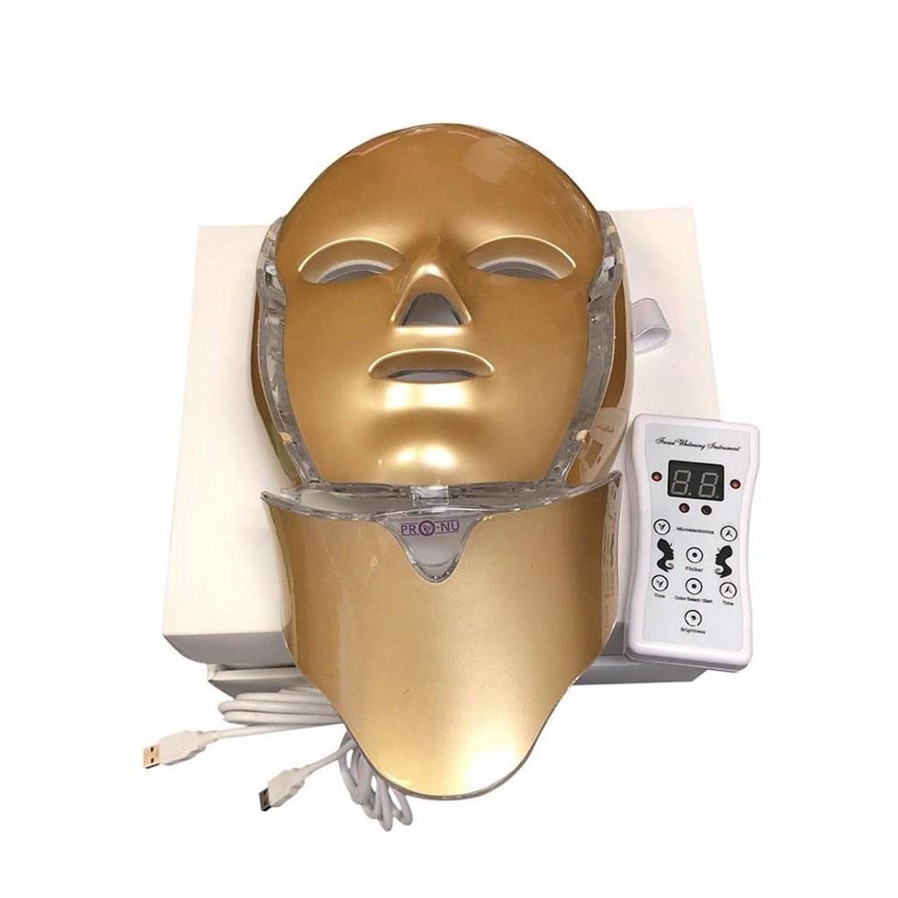 تصویر ماسک ال ای دی صورت و گردن گلد ۲۰۲۰