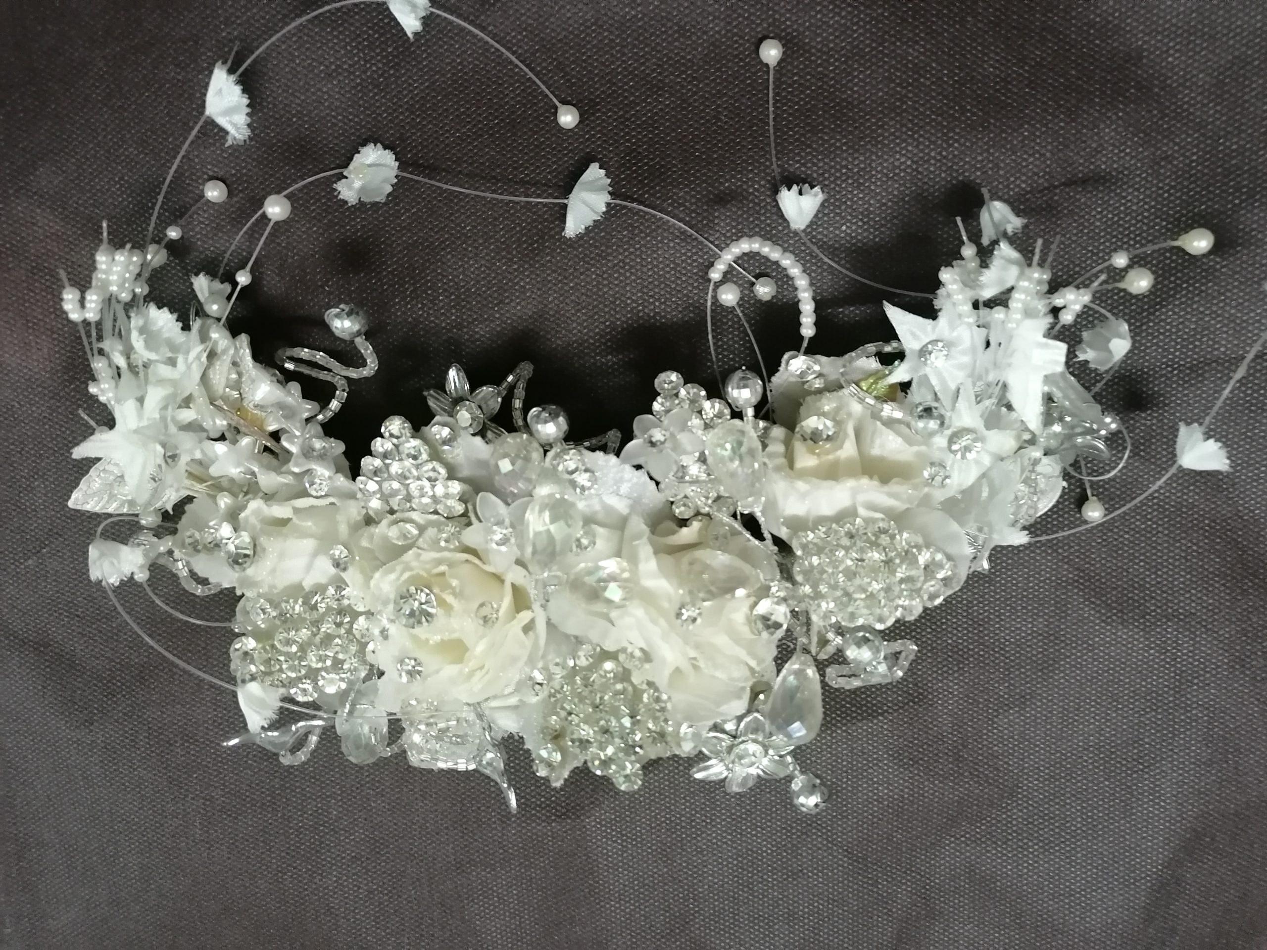 تصویر تاج عروس ، تاج سر، گل سر ( شیک و لاکچری ) باکیفیت