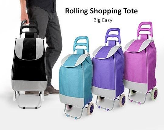 چرخ خرید برزنتی Shopping Tote
