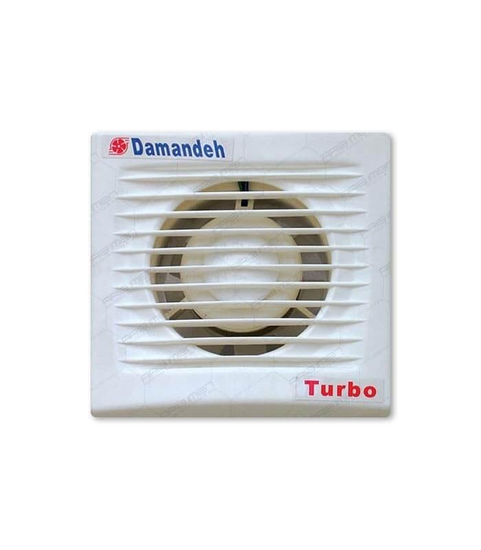 تصویر هواکش دمنده 10 سانتی لوله ای توربو  VPH-10S2S DAMANDE axial fan turbo model 10