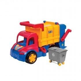 تصویر ماشین بازی زرین تویز مدل کامیون حمل زباله مدل The Trash Truck F3