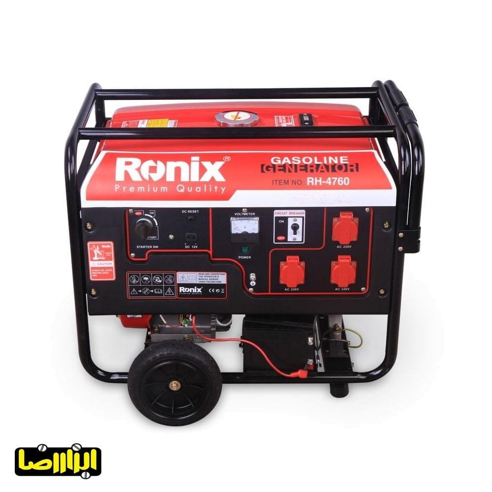 تصویر موتور برق رونیکس مدل RH-4760 Ronix electric motor model RH-4760